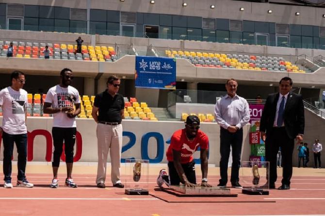 Usain Bolt, indestructibil! Ce a făcut pe noul stadion din Lima