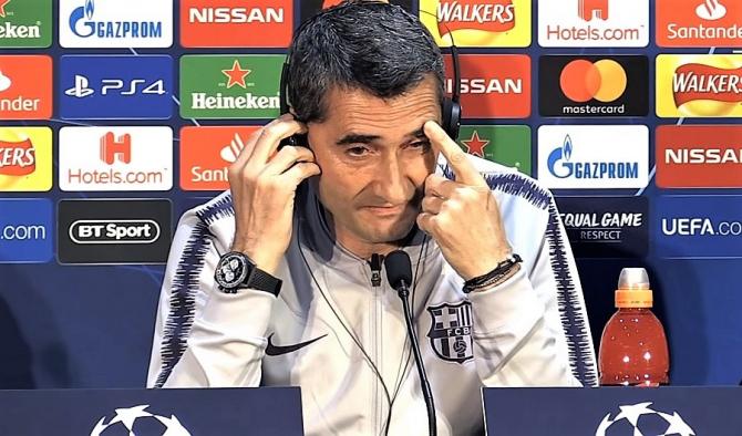 Manchester United - Barcelona, prima declarație a antrenorului Valverde