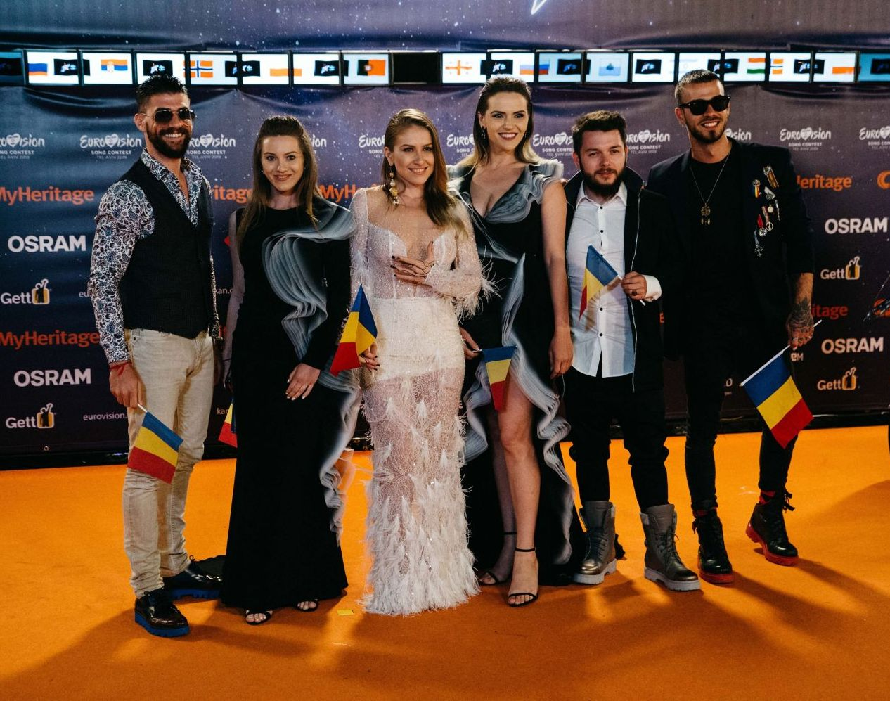 Ester Peony la Eurovision 2019. Ceremonia de deschidere. Foto: Dana Tamari