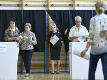 Dăncilă la vot