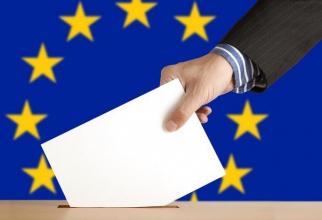 Plic vot, urnă alegeri europarlamentare 2019