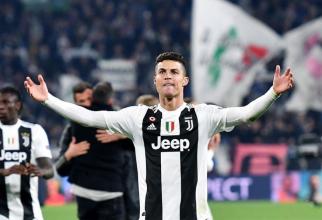 Cristiano Ronaldo pe terenul de fotbal