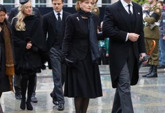 Familia regală a României, la funeraliile de Stat ale Marelui Duce Jean. foto: Instagram