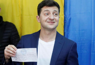 Președintele Ucrainei Volodimir Zelenski