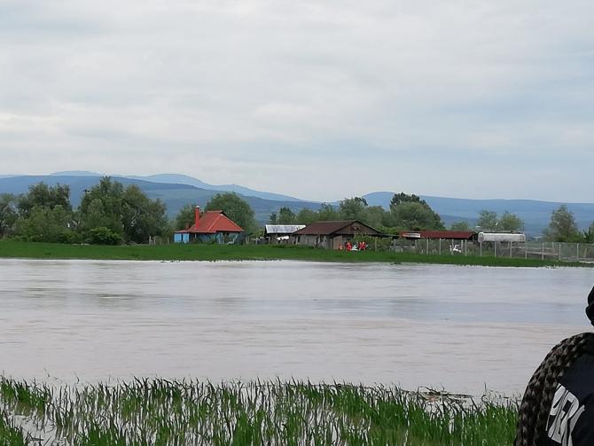 Foto ARHIVĂ. Inundații Cluj 2019. FOTO: ISU Cluj