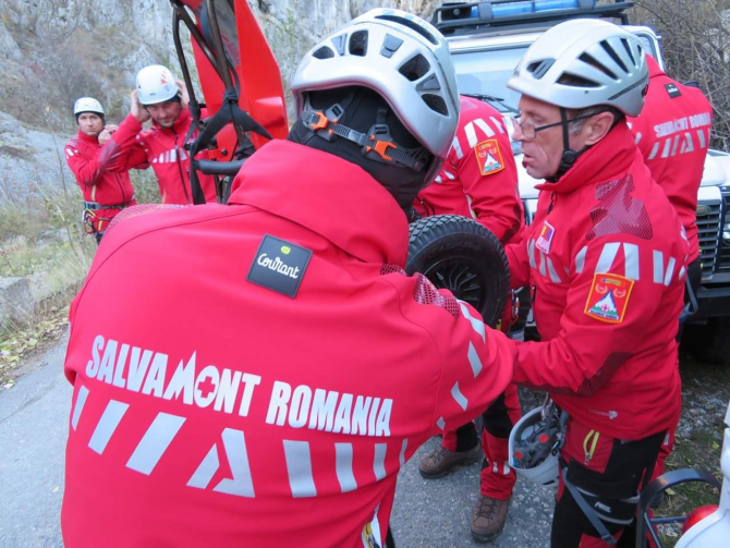 FOTO: Facebook / Salvamont Romania - Dispeceratul National Salvamont