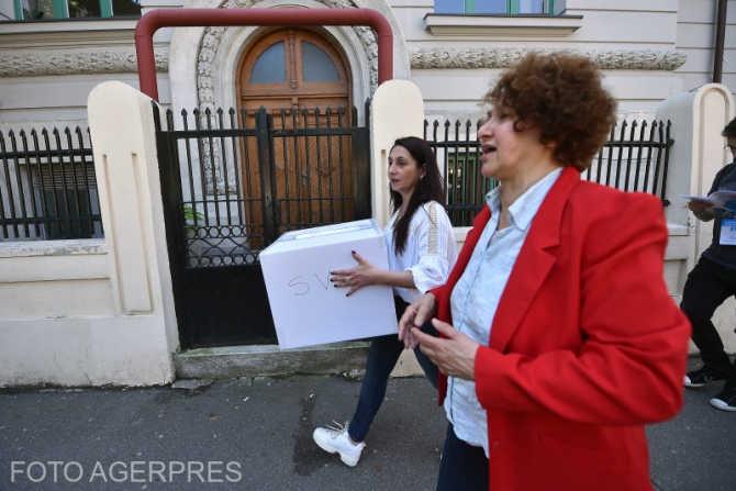 Vot alegeri. FOTO AGERPRES