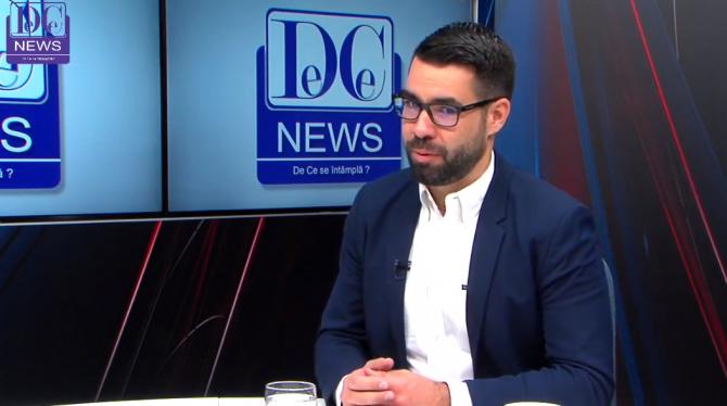 Alex Coita, la DCNews