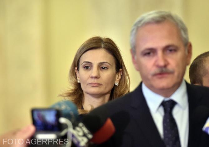 Anca Alexandrescu, în spatele lui Liviu Dragnea