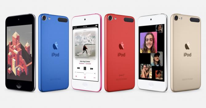 Noul model iPod de la Apple