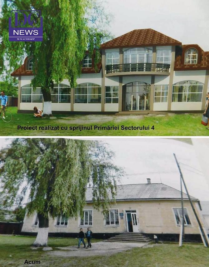 Proiect casa de Cultură, Mahala, regiunea Cernăuți, finanțat de primăria Sector 4