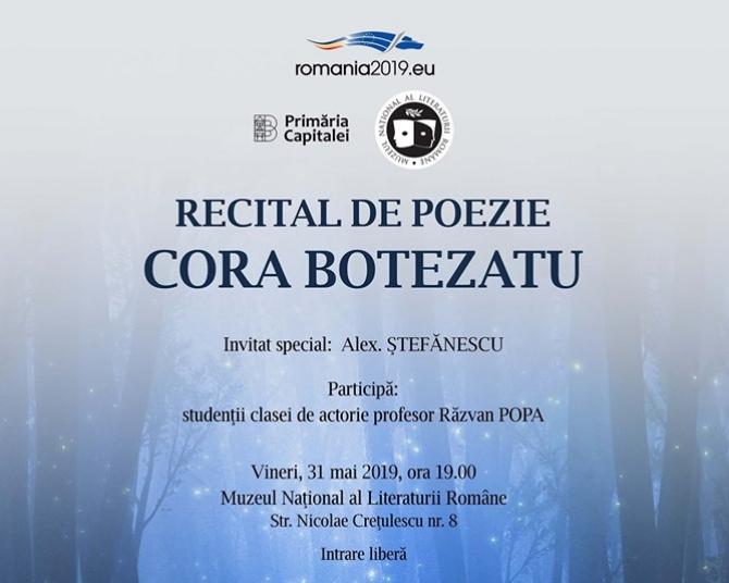 Recital de poezie Cora Botezatu