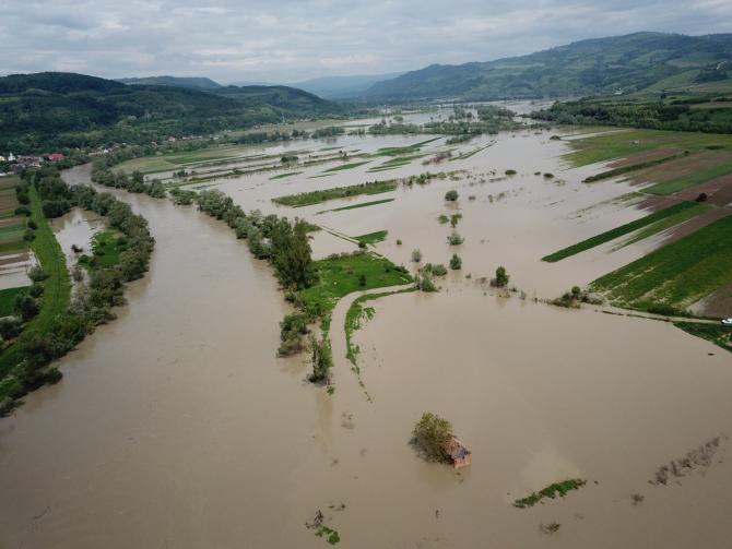 ARHIVĂ. Inundații județul Cluj, 2019. FOTO: Cristian Lipovan