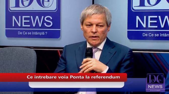 Dacian Cioloș, la DCNews