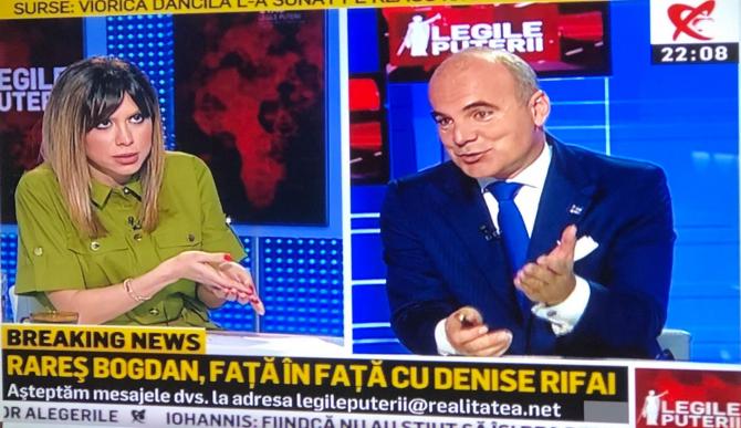 Denise Rifai și Rareș Bogdan