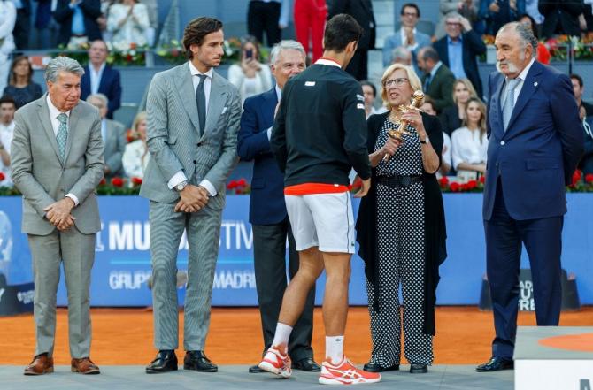 Madrid 2019. Novak Djokovic - Stefanos Tsitsipas, rezultat în finala turneului. foto: @mutuamadridopen - FB