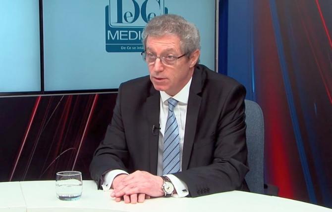 Prof.Dr. Adrian Streinu-Cercel, reputat specialist în boli infecțioase. Foto: DC MEDICAL