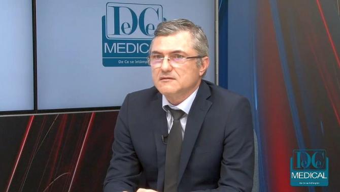 Dr Mugur Grasu, invitatul de luni 20 mai de la Academia de Sănătate. Foto: DC NEWS
