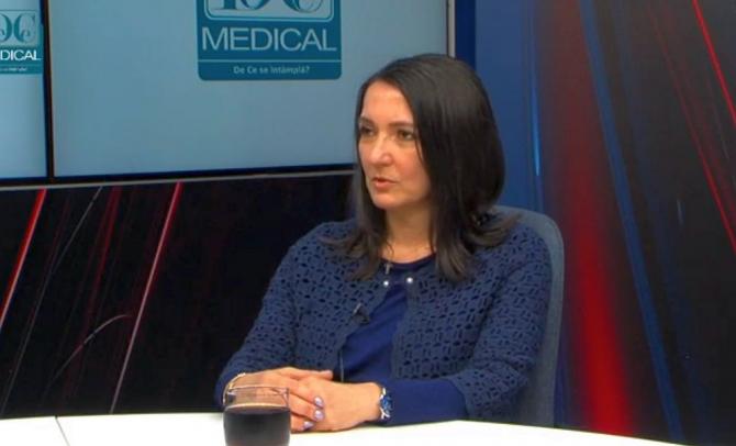 Dr Rosana Turcu, la Academia de Sănătate. Foto: DC News