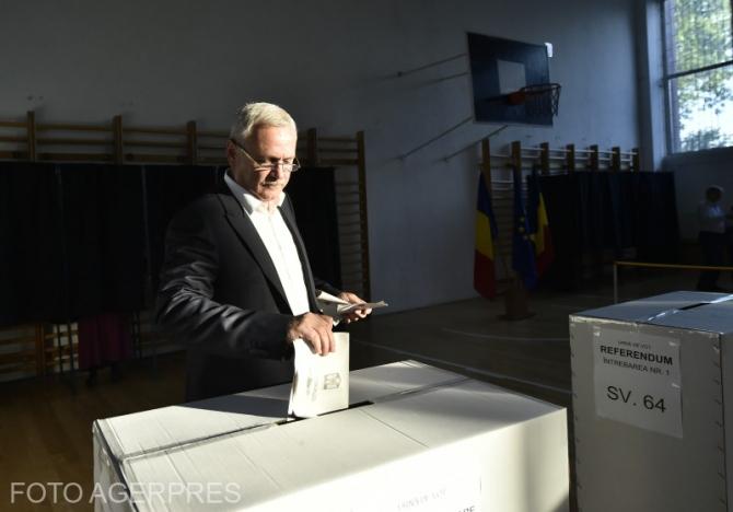 Dragnea la vot