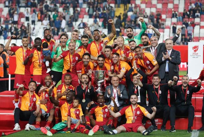 Galatasaray a câştigat Cupa Turciei. foto: @Galatasaray - FB