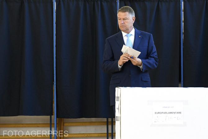 Iohannis la vot