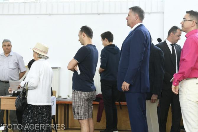 Iohannis a votat