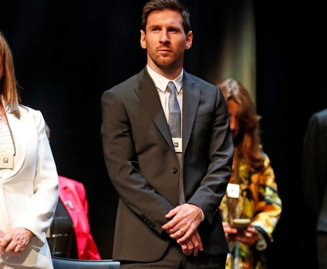"Leo Messi, ""Crucea Sant Jordi"" - distincție acordată de comunitatea din Catalonia foto: @leomessi - FB"