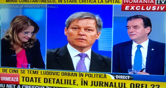 Ludovic Orban, în platoul România TV