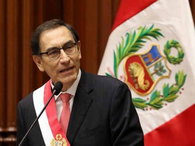 Președintele Peru - Martin Vizcarra