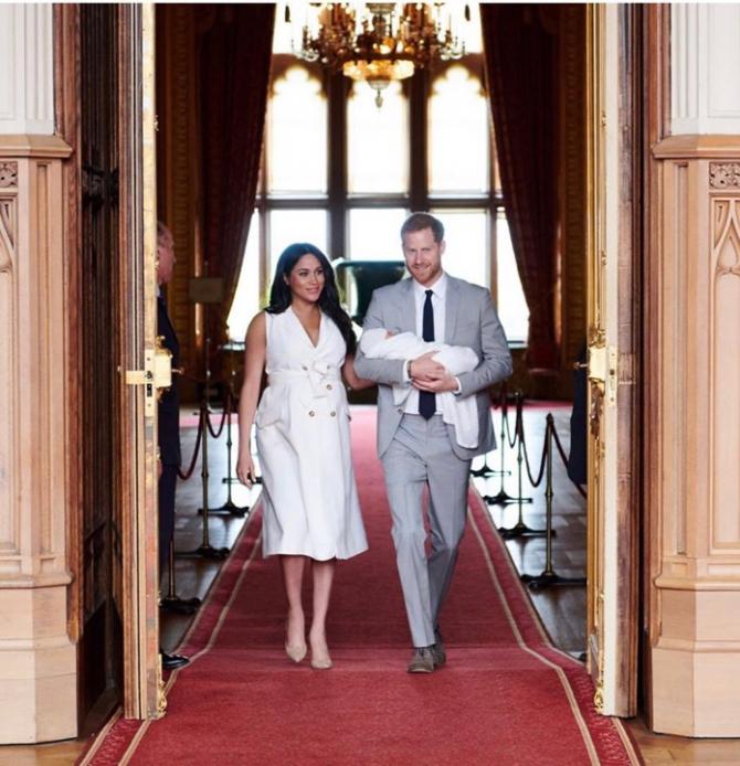 Ducele și Ducesa de Sussex. Sursă foto: sussexroyal Instagram