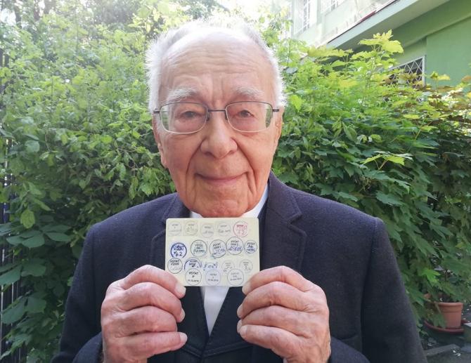 Mihai Șora a votat