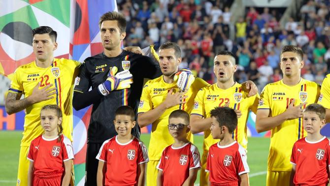 Preliminarii EURO 2020 - Lotul României pentru meciurile cu Norvegia şi Malta. foto: FRF