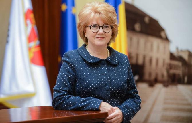 Primarul din Sibiu Astrid Fodor
