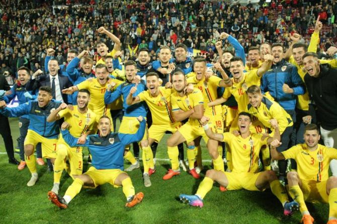 EURO 2019 Under 21 - Program meciuri România în Italia și San Marino. foto: FRF