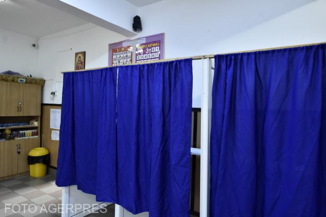 Secție de votare FOTO AGERPRES