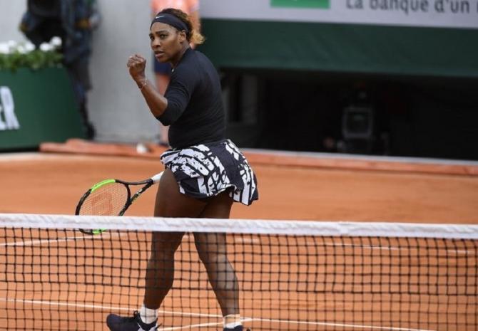 Serena Williams, Roland garros 2019. foto: @rolandgarros - Twitter