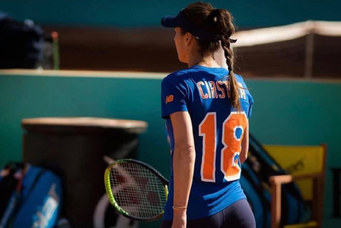 Sorana Cîrstea, turneu Madrid. foto: @Soranacirstea - FB