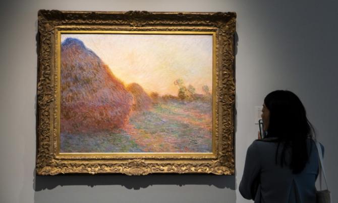 Tablou de Claude Monet, vândut la New York pentru 110 milioane de dolari