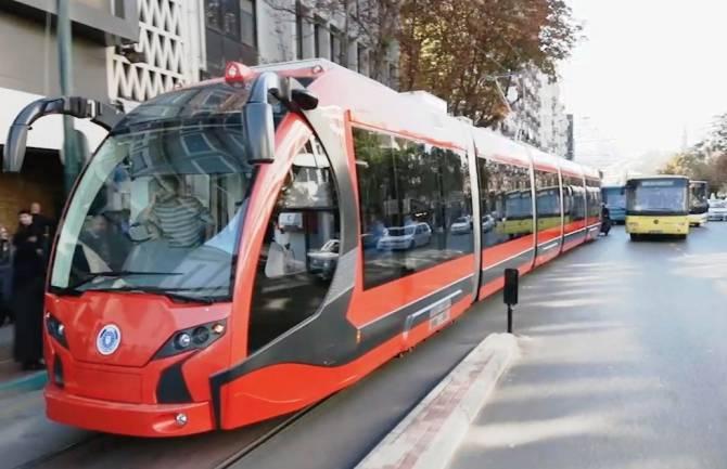 Model de trammvai care ar putea intra în dotarea societății de transport din Capitală