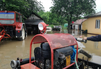 Inundații. FOTO: IGSU