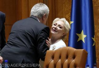 Călin Popescu-Tăriceanu și Viorica Dăncilă