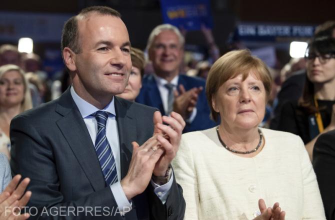 Manfred Weber, fără susținerea cancelarului Angela Merkel