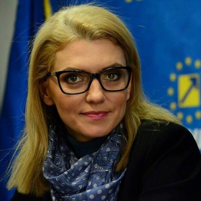 Alina Gorghiu a explicat de ce a lipsit de la Cotroceni