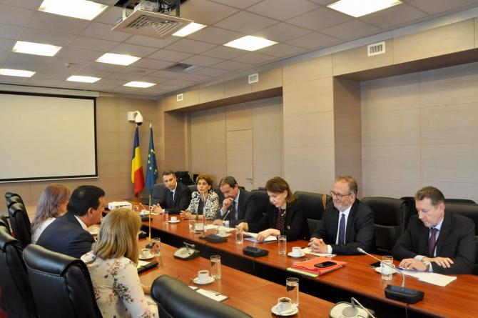 Discutii la Ministerul Economiei