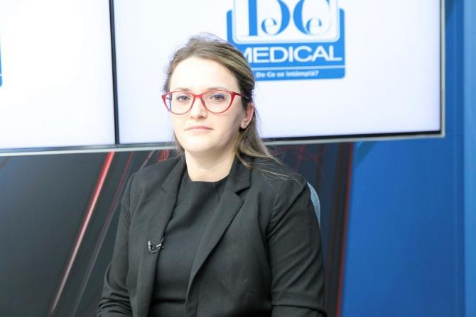 Dr Beatrice Dragomir Anghel, invitatul de astăzi de la Interviurile DC News și DC Medical. Foto: DC Medical