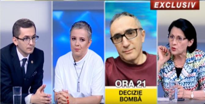 Replici-acide-Andronescu-Pavel-România-TV