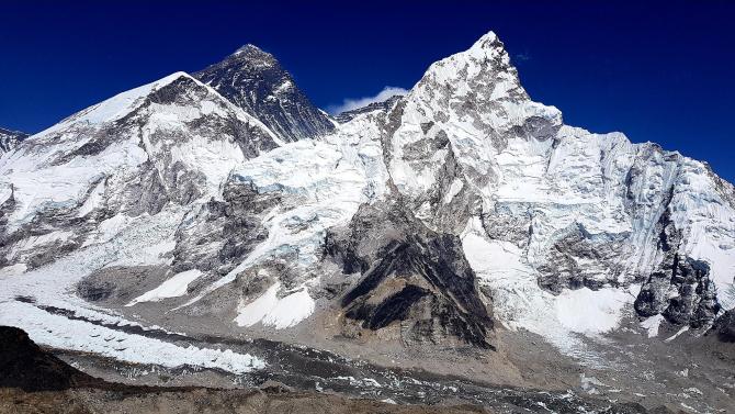Varful Everest. foto: Octav Petrariu, alpinist - FB