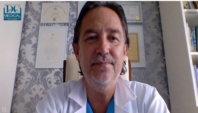 Prof dr Horațiu Suciu, invitatul de luni de la Academia de Sănătate: Foto: DC Medical