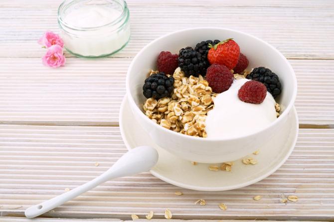 Dieta cu iaurt și cereale